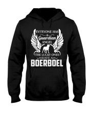 My Guardian Angel Is A Boerboel Hooded Sweatshirt thumbnail