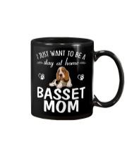 Stay At Home Basset Hound Mom Mug thumbnail