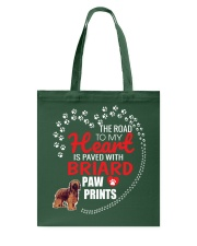 My Heart Paved With Briard Paw Prints Tote Bag thumbnail