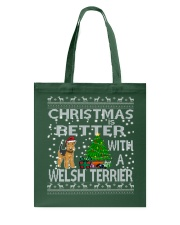Christmas Is Better With A Welsh Terrier Tote Bag thumbnail