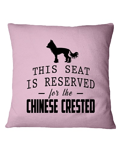 This Seat Is For Chinese Crested
