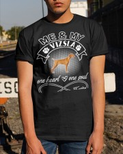 Vizsla Is In My Heart And Soul Classic T-Shirt apparel-classic-tshirt-lifestyle-29