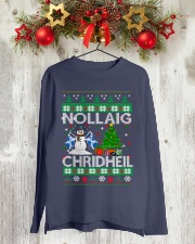 Nollaig Chridheil Long Sleeve Tee lifestyle-holiday-longsleeves-front-2