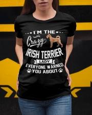 Crazy Irish Terrier Lady Ladies T-Shirt apparel-ladies-t-shirt-lifestyle-04