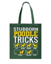 Stubborn Poodle Tricks Tote Bag thumbnail