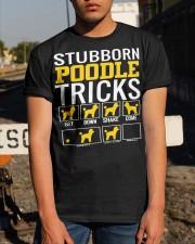 Stubborn Poodle Tricks Classic T-Shirt apparel-classic-tshirt-lifestyle-29