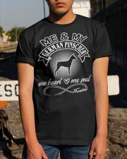 German Pinscher Is In My Heart And Soul Classic T-Shirt apparel-classic-tshirt-lifestyle-29