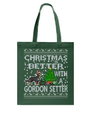 Christmas Is Better With A Gordon Setter Tote Bag thumbnail