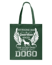My Guardian Angel Is A Dogo Argentino Tote Bag thumbnail