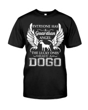 My Guardian Angel Is A Dogo Argentino Classic T-Shirt front
