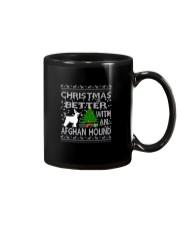 Christmas Is Better With An Afghan Hound Mug thumbnail