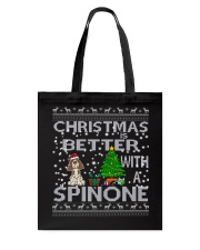 Christmas Is Better With A Spinone Tote Bag thumbnail