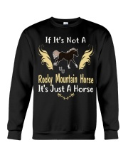 It Is Just A Rocky Mountain Horse Crewneck Sweatshirt thumbnail