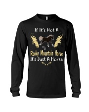 It Is Just A Rocky Mountain Horse Long Sleeve Tee thumbnail