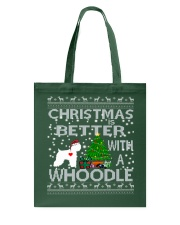Christmas Is Better With A Whoodle Tote Bag thumbnail