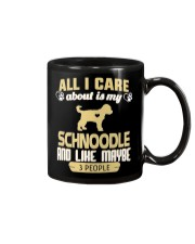 All I Care About Is My Schnoodle Mug thumbnail