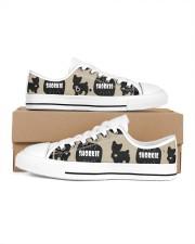 Shorkie Men's Low Top White Shoes thumbnail