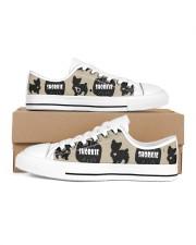 Shorkie Women's Low Top White Shoes thumbnail