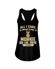 All I Care About Is My Morkie Ladies Flowy Tank thumbnail