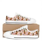 Bloodhound Men's Low Top White Shoes thumbnail