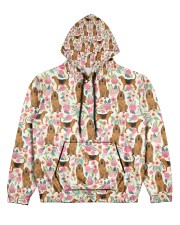 Bloodhound Women's All Over Print Hoodie thumbnail
