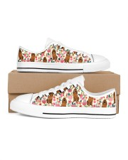 Bloodhound Women's Low Top White Shoes thumbnail