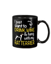 Drink Wine With Rat Terrier Mug thumbnail
