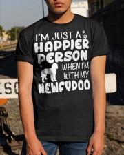 Happier Person Newfypoo Classic T-Shirt apparel-classic-tshirt-lifestyle-29