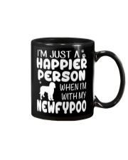 Happier Person Newfypoo Mug thumbnail