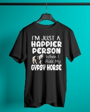 Happier Person Gypsy Horse Classic T-Shirt lifestyle-mens-crewneck-front-3