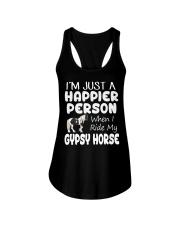 Happier Person Gypsy Horse Ladies Flowy Tank thumbnail