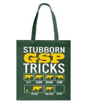 Stubborn GSP Tricks Tote Bag thumbnail