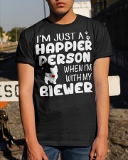 Happier Person Biewer Terrier Classic T-Shirt apparel-classic-tshirt-lifestyle-29