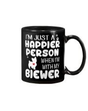 Happier Person Biewer Terrier Mug thumbnail