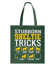 Stubborn Sheltie Tricks Tote Bag thumbnail
