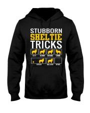 Stubborn Sheltie Tricks Hooded Sweatshirt thumbnail