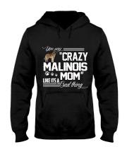 CRAZY BELGIAN MALINOIS MOM Hooded Sweatshirt thumbnail