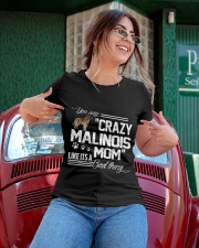 CRAZY BELGIAN MALINOIS MOM Ladies T-Shirt apparel-ladies-t-shirt-lifestyle-01