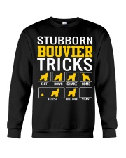 Stubborn Bouvier Tricks Crewneck Sweatshirt thumbnail