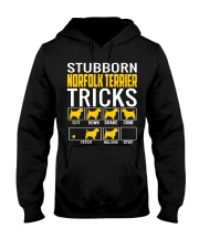 Stubborn Norfolk Terrier Tricks Hooded Sweatshirt thumbnail