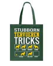 Stubborn Tervueren Tricks Tote Bag thumbnail