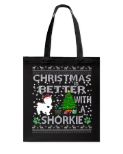 Christmas Is Better With A Shorkie Tote Bag thumbnail