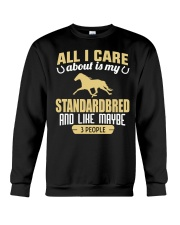 All I Care About Is My Standardbred Crewneck Sweatshirt thumbnail