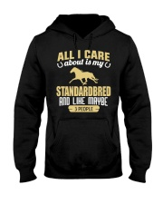 All I Care About Is My Standardbred Hooded Sweatshirt thumbnail