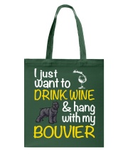 Bouvier Drink Wine Tote Bag thumbnail
