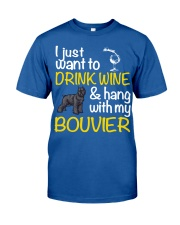 Bouvier Drink Wine Classic T-Shirt thumbnail
