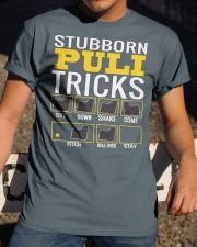 Stubborn Puli Tricks Classic T-Shirt apparel-classic-tshirt-lifestyle-28