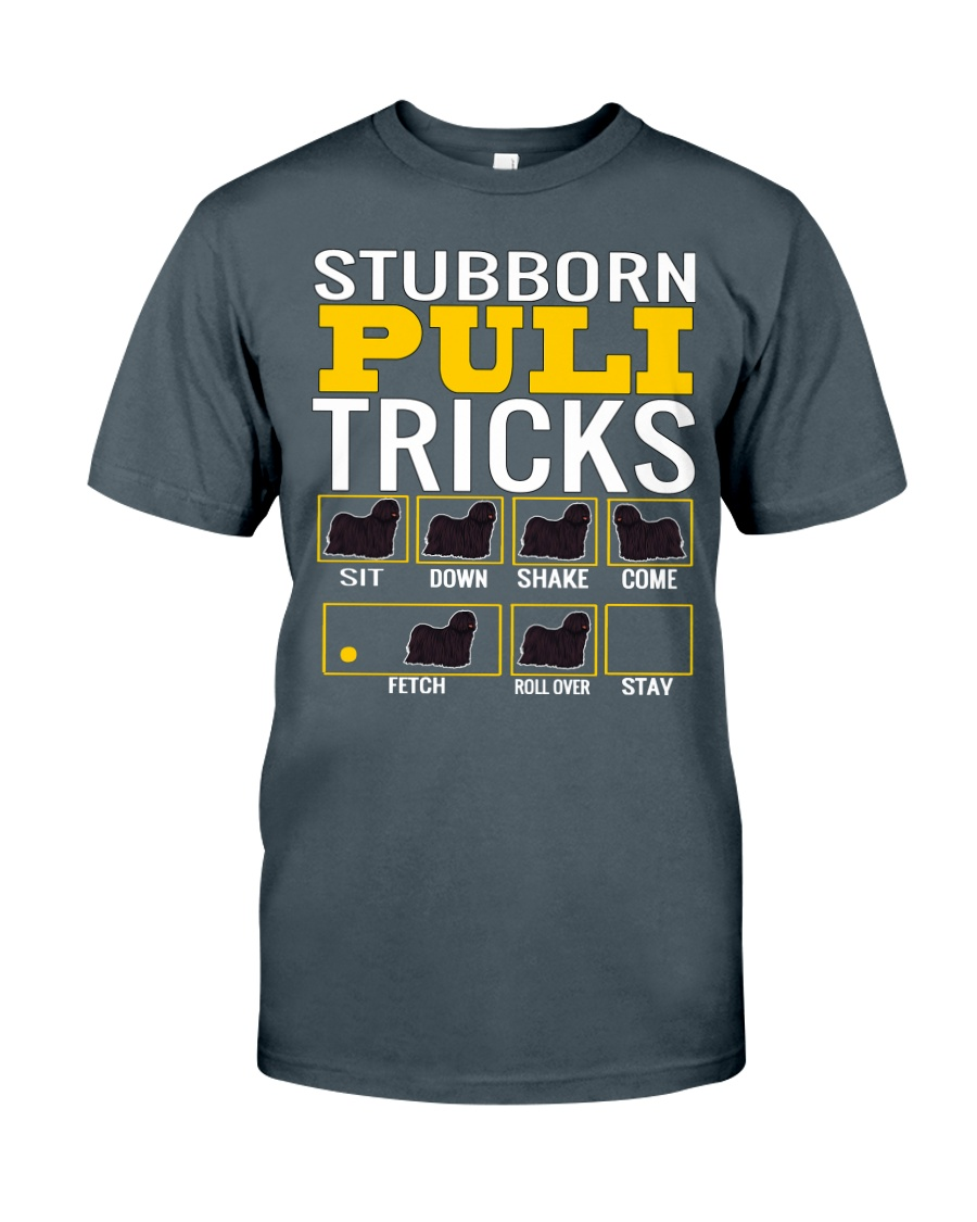 Stubborn Puli Tricks Classic T-Shirt