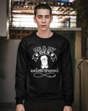 Old English Sheepdog OES Is In My Heart And Soul Crewneck Sweatshirt apparel-crewneck-sweatshirt-lifestyle-02
