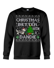 Christmas Is Better With A Dandie Crewneck Sweatshirt tile
